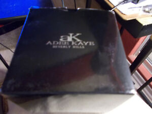 ADEE-KAYE-AK-5434-MEN-039-S-STAINLESS-STEEL-BLUE-DIAL-SPORTS-CHRONOGRAPH-WATCH-NIB
