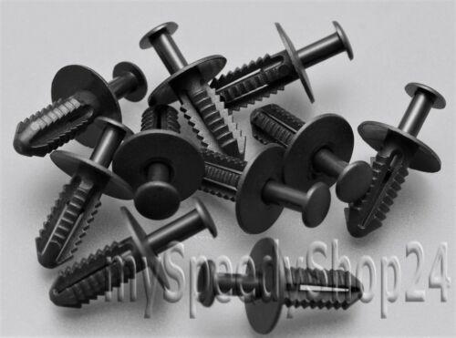 30x Stoßstangen Radkasten Clips für MERCEDES W124 W202 W203 W204 W208 W209 W210