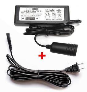 OMNIHIL (14FT) 12V Adapter Power Converter for Wagan 2577 Personal Fridge/Warmer