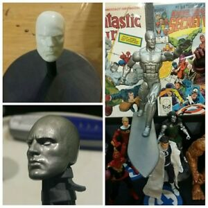 """Custom UNPAINTED Carnage Head Cast head For 6/"""" Marvel Legends Head Only"""