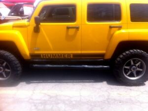 HUMMER-H3-or-H2-ROCKER-SIDE-STRIPES-VINYL-DECALS-SET-Stickers-2X-for-Both-Sides