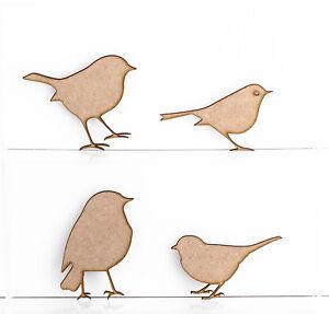 In-legno-MDF-Robins-Albero-di-Natale-Decorazione-3mm-spessore-Etichetta-da-regalo-TAGLIO-LASER-IN