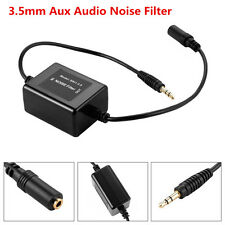 Car Audio Stereo 3.5mm Aux Audio Noise Filter Ground Loop Isolator Eliminate Kit
