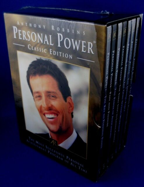 Anthony Tony Robbins Personal Power II 30 Day CD Program Driving Force Set