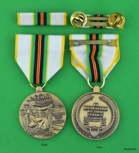 COLD-WAR-VICTORY-MEDAL-amp-RIBBON-WITH-HOLDER-Army-Navy-Air-Force-Marine-Veteran
