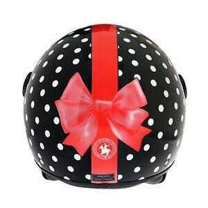 Casco Demi Jet Rodeo Drive Rd105n Fioc Fiocco Donna Woman Fashion Scooter Helmet 4028536l-07225743-275893280