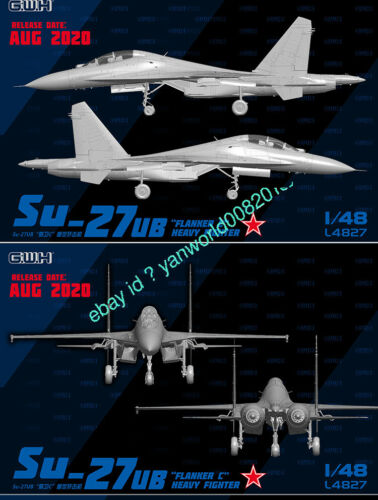 GreatWall L4827 1//48 SCALE SU-27UB FLANKER C HEAVY FIGHTER 2020 NEW