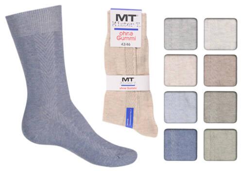 8 Paar Herren Socken farbig Sommerfarben  80/% BW ohne Gummidruck Art 632