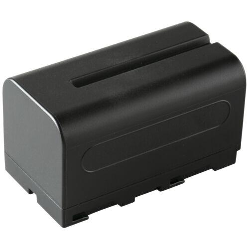 2x SK batería para Sony np-f7504000mahnp-f550 np-f960 np-f970 np-f9801060122