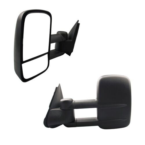 For 97-03 Ford F150 Light Duty Reg// Super Cab Power Extendable Towing Mirrors