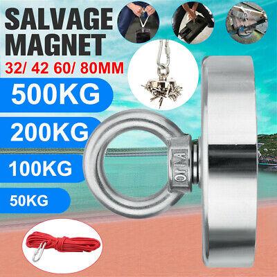 Neodym Bergemagnet Suchmagnet zum Magnet Angeln 200//300//400//500KG Magnet Fischen