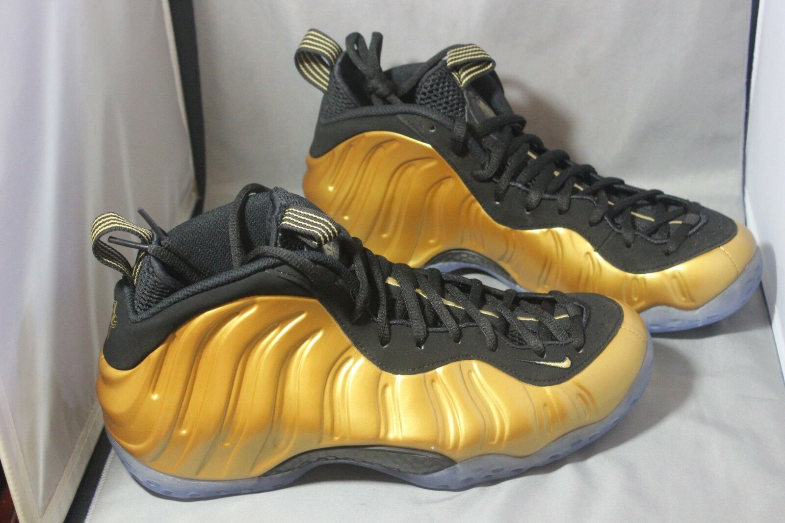 Nike Air Foamposite One 314996 700 Metallic gold Black Size 11