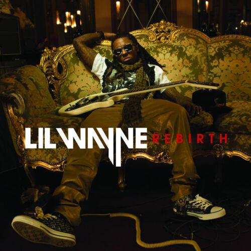 "Lil Wayne Rebirth Cover Poster 2010 Album Hip Hop Art Print 20×20 24×24/"" 32×32/"""