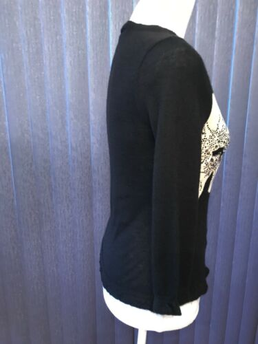 Noir Christian Pull Taille Lacroix 100Cachemire S O0PnwkX8