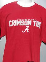 Alabama Crimson Tide Football Burgandy T Shirt Size Large Classic Design