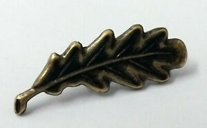 """Genuine British Military Issue Medal Ribbon """"MID"""" Bronzed Oak Leaf Two Prong Ver"""