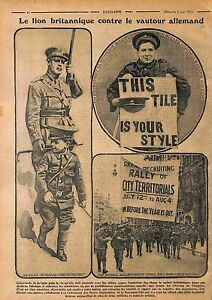 Recruiting-Soldiers-Tommies-British-Army-Parade-Streets-London-Londres-1915-WWI