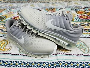 Details about Nike Air Max 360 2017 Mens Sz 10 Two Tone Gray Running Shoes  Sneakers