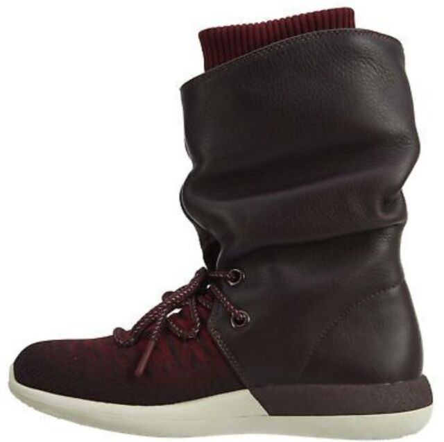 huge discount 7d384 41610 Nike Wmns Roshe Two Hi Flyknit Boots Deep Burgundy Ladies Uk 6 Bnib 861708  600