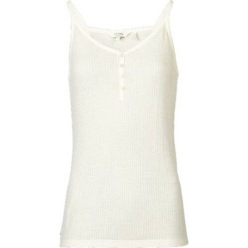 Ivory Women/'s BNWT Harbour Pointelle Vest Fat Face 100/% Viscose