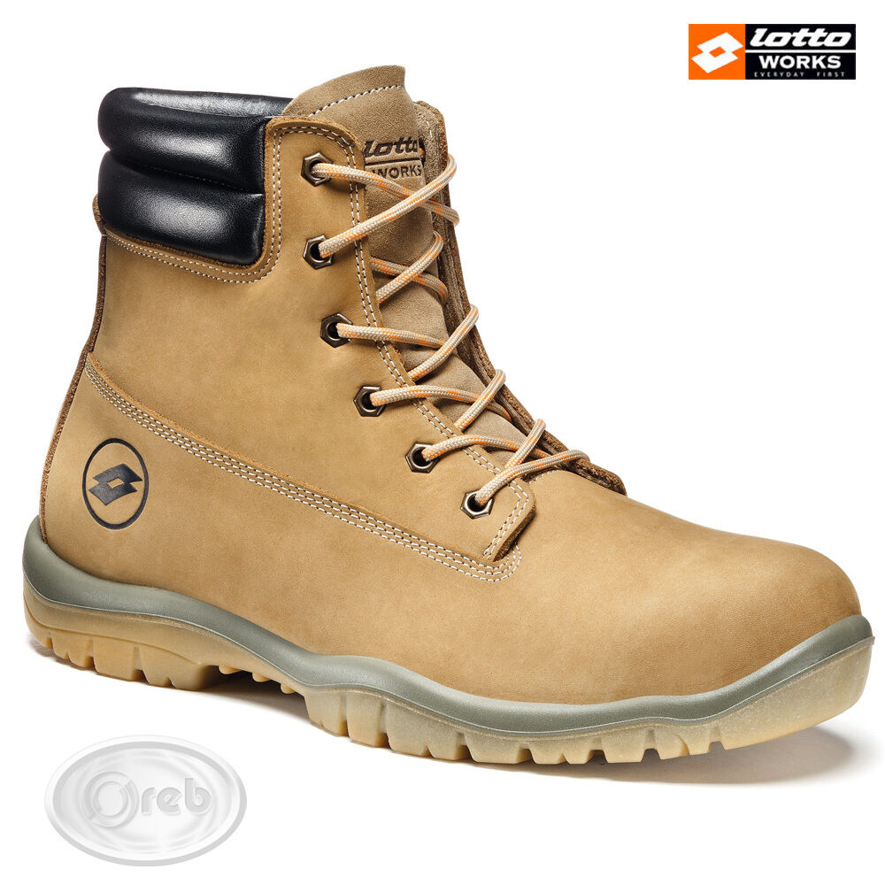 chaussures DE ProugeECTION LOTTO WORKS JUMP 950 HIGH R6987 S3 SRC IMPERMÉABLE