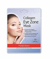 2 Pack 30 Sheets Purederm Collagen Eye Zone Pad Patches Mask Wr... Free Shipping