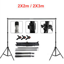 Teleskop Fotostudio Hintergrundsystem Fotografien Stativ Set Hintergrund Ta J2U5