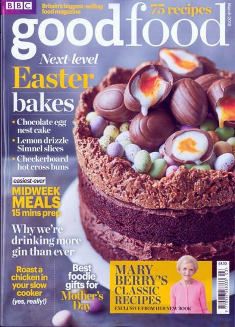 Bbc good food magazine may 2018 beer can duck brilliant baker bbc good food magazine issue march 2018 easter bakes mary berrys classics forumfinder Choice Image
