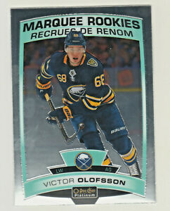 2019-20-OPC-Platinum-MARQUEE-ROOKIES-VICTOR-OLOFSSON-RC-Rookie-Buffalo-Sabres