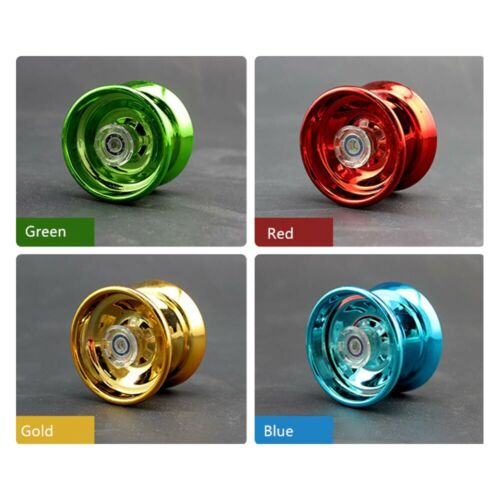 Aluminum Alloy Responsive YoYo Ball Children Toy Gifts for Beginners Learner