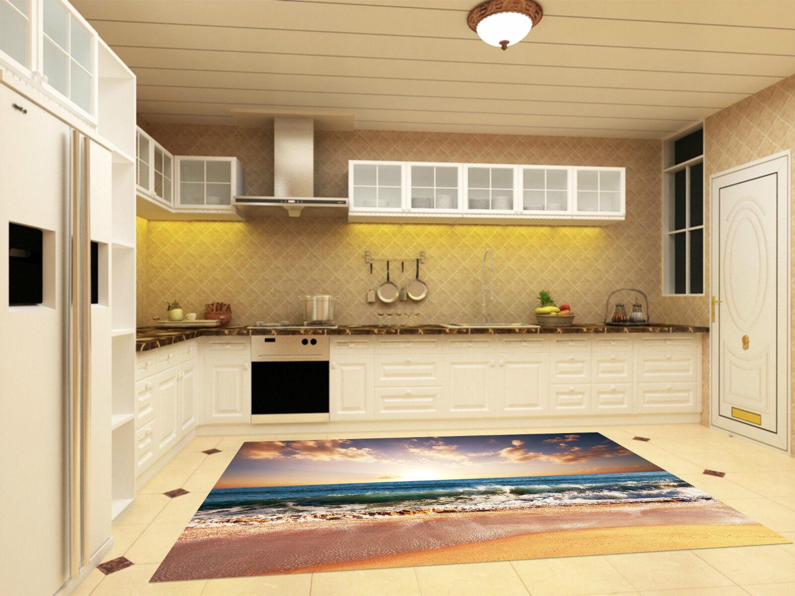 3D Sunny Sea 243 Kitchen Mat Floor Murals Wall Print Wall Deco AJ WALLPAPER CA