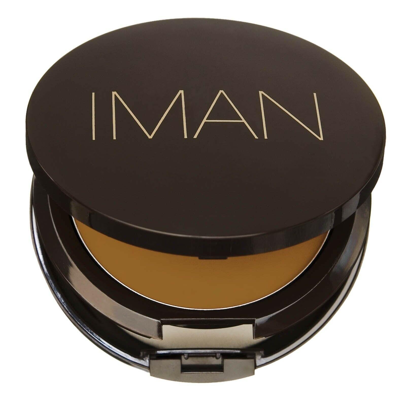 IMAN Second To None Cream To Powder Foundation, Medium Skin,