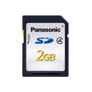 Carte-memoire-SD-Panasonic-2-Go-Classe-4-SLC-20-Mo-s-RP-SDLB02GAK-pour-Sony
