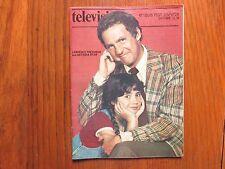 1980 St. Louis Post-Dispatch TV Magaz(LAWRENCE PRESSMAN/NATASHA RYAN/LADIES' MAN