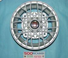 """FIAT 500 F/L/R 126 4 CERCHI IN LEGA A RAGGI RUOTE DA 4,5 X 12"""" SILVER EPOCA 4X19"""