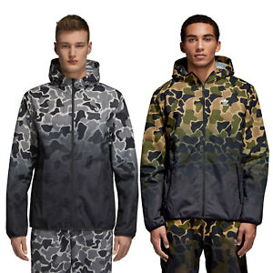 Details about Adidas Originals Camo Windbreaker Mens Transition Jacket Wind Jacket show original title