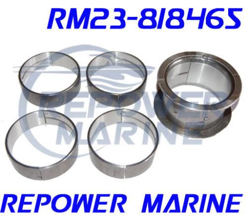 Replaces 23-818465 Main Bearing Set for V6 /& V8 Mercruiser Volvo Penta OMC