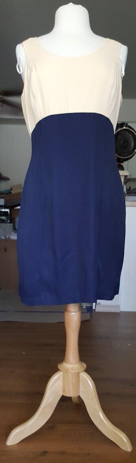 Scarlett Gelb & Blau 2 Piece Dress and Jacket Größe  11-12