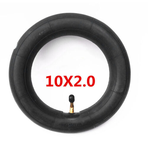 10*2.0//2.125 Rubber Inner Tube /& Bent Valve Tyre For Tire Baby Carriages Bike