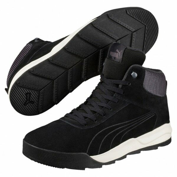 Puma Desierto Sneaker Herren Winter Schuhe Stiefel Boots 361220 (black 04)