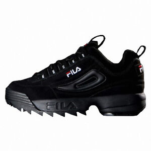 Details about 2019 New Original FILA Women Disruptor II 2 Shoes Sneakers -  Black(FS1HTB1078X)