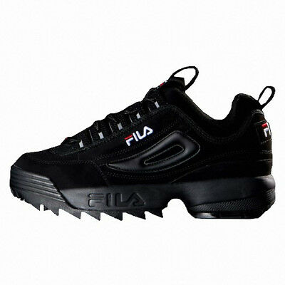 2019 New Original FILA Women Disruptor II 2 Shoes Sneakers -  Black(FS1HTB1078X) | eBay