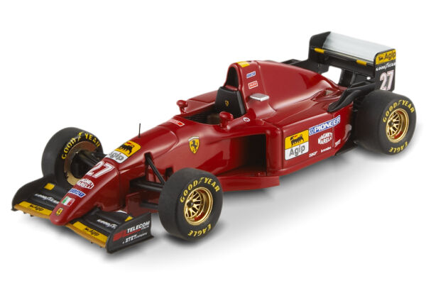 HOT WHEELS ELITE T6286 - FERRARI 412 T2 - J. ALESI - EUROPE GP 1995 1 43