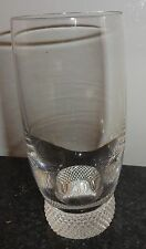 Villeroy & Boch Crystal Flat Tumbler Octavie Multi-Sided Stem Textured Knob SO9