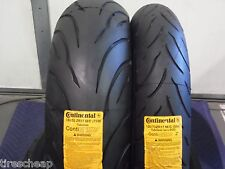 120/70ZR17 & 180/55ZR17 CONTINENTAL MOTORCYCLE 2 TIRE SET 120/70-17 180/55-17