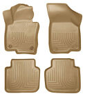 Floor Liner-Front and 2nd Seat Floor Liners (Footwell Coverage) fits VW Passat
