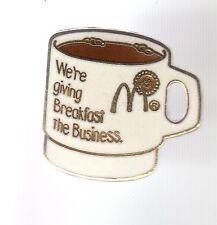 RARE PINS PIN'S .. MC DONALD'S RESTAURANT USA BREAKFAST CAFE COFFEE TASSE CUP~17