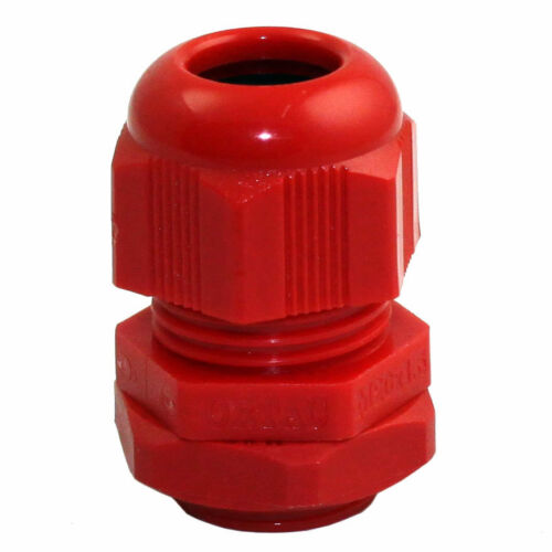 M20 NYLON CABLE GLAND WITH LOCK NUT PACKS OF 10