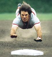 Pete Rose Cincinnati Reds Mlb Baseball 8x10 Photo Dive