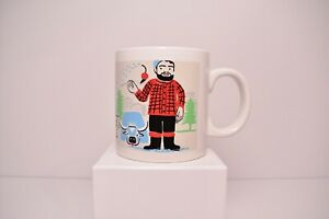 LARGE-Coffee-Mug-Cup-Minneapolis-Walker-Museum-Paul-Bunyan-Ox-034-Dream-Big-034